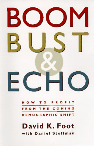 9780921912972: Boom, Bust & Echo: How to Profit from the Coming Demographic Shift