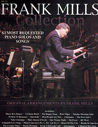 9780921965008: Frank Mills Collection, 63 Most Requested Piano Solos and Songs