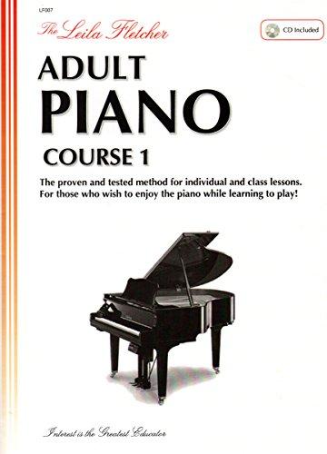 9780921965718: LF007 - The Leila Fletcher Adult Piano Course - Book 1
