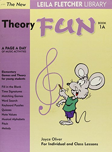 9780921965749: LF015 - The New Leila Fletcher Library Theory Fun Book 1A