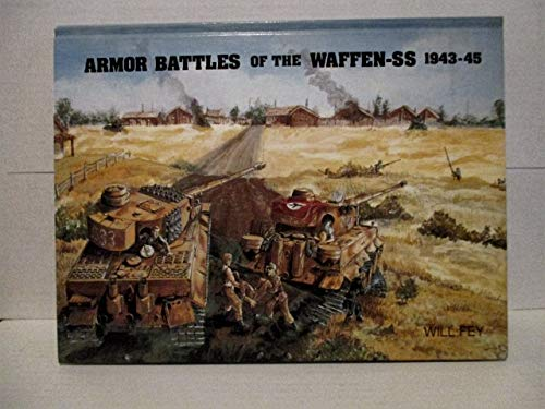 9780921991090: Armour Battles of the Waffen-SS, 1943-45