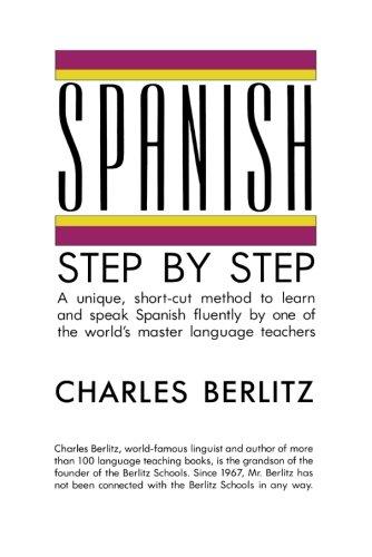 Spanish Step-by-Step (Language guides): Berlitz, Charles