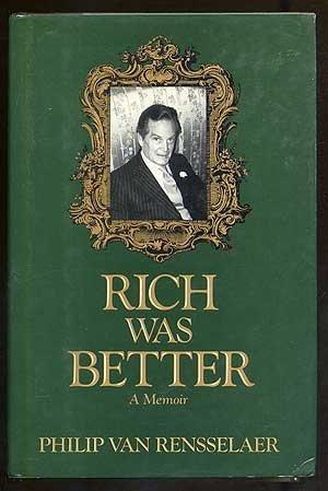 9780922066308: Rich Was Better: A Memoir
