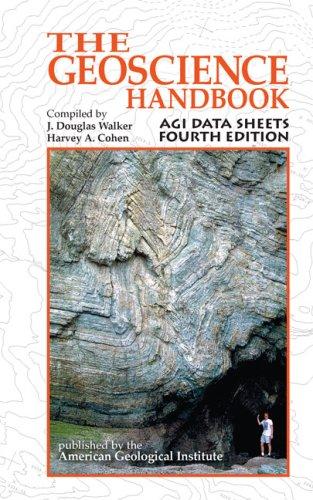9780922152759: Geoscience Handbook: The AGI Data Sheets, 4th Edition
