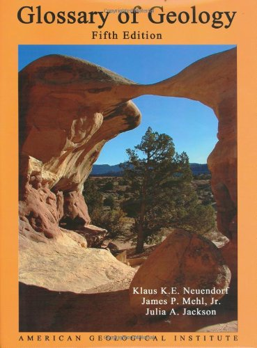 9780922152766: Glossary of Geology