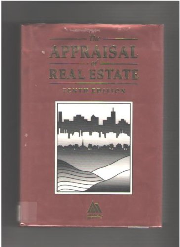 9780922154043: The Appraisal of Real Estate
