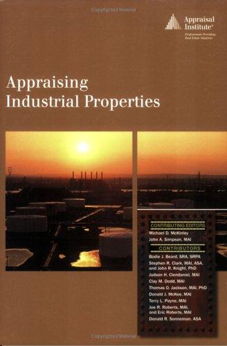 9780922154845: Appraising Industrial Properties