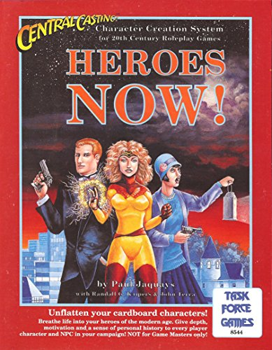 Central Casting: Heroes Now! (Character Creation System - 20th Century) (0922335117) by Paul Jaquays; Randall G. Kuipers; John Terra