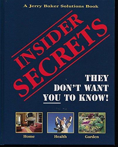 9780922433902: Insider Secrets