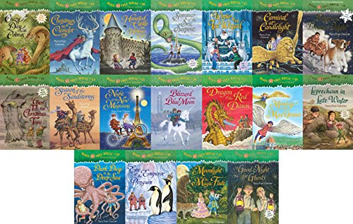 9780922443604: 18 Books: Magic Tree House Merlin Mission Collection Books 29 - 46 Christmas in Camelot, Haunted Castle on Hallow's Eve, Summer of the Sea Serpent, Winter of the Ice Wizard, Carnival at Candlelight, Season of the Sandstorms + 12 More