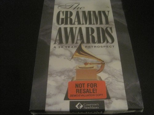 9780922555130: The Grammy Awards: A 34 Year Retrospect