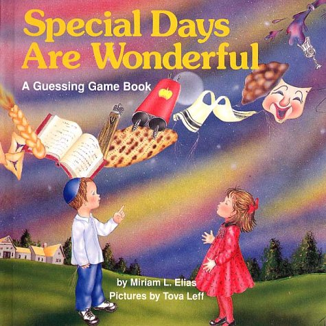 9780922613465: Special Days Are Wonderful: A Guessing Game Book