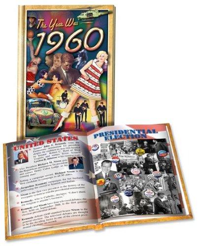 Flickback 1960 Flickback Mini-Book * Commemorative Year Gift MBS1960: Flickback Media