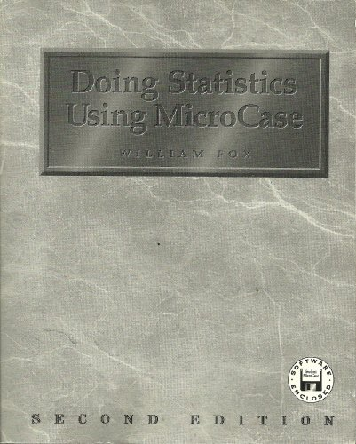9780922914128: Social Statistics Using Microcase with Doingstatistics Using Microcase