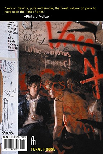 9780922915705: Lexicon Devil: The Fast Times and Short Life of Darby Crash and the Germs