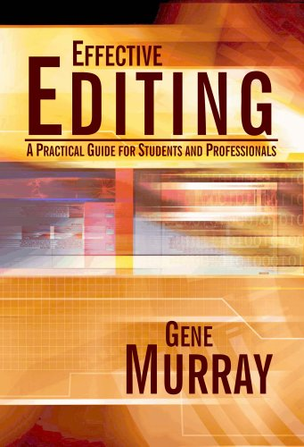 9780922993390: Effective Editing: A Practical Guide for Students and Professionals