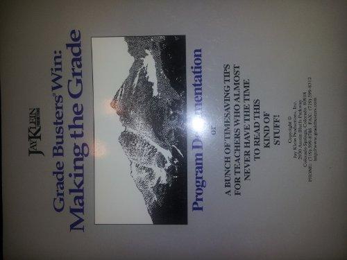 9780923107031: Grade Busters Win :Making the Grade Program Document