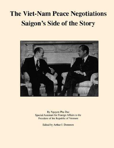 9780923135829: The Viet-Nam Peace Negotiations: Saigon's Side of the Story