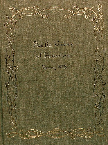 9780923242220: Poetic Voices of America: Spring 1993