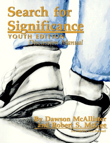 9780923417123: Search for Significance: Discussion Manual (Youth Edition)