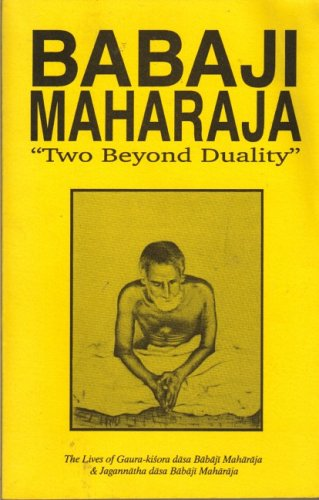 9780923519063: Babaji Maharaj: Two Beyond Duality