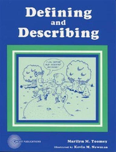 Defining and describing: Toomey, Marilyn M