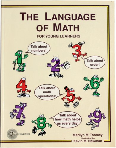 9780923573232: The language of math for young learners