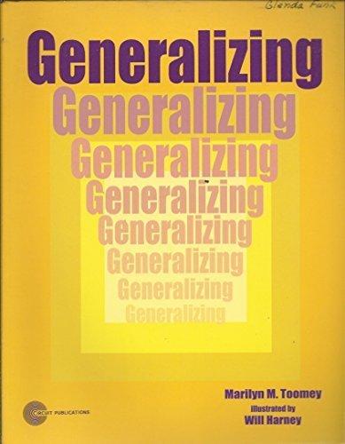 Generalizing: Toomey, Marilyn M