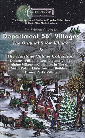 9780923628413: Greenbook Guide to Department 56 Villages, 1997-1998
