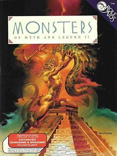 9780923763060: Monsters of Myth and Legend II (Role Aids)