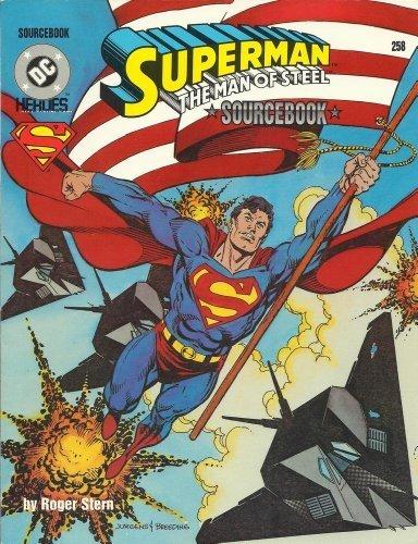 9780923763381: Superman: the Man of Steel Sourcebook (DC Heroes RPG)
