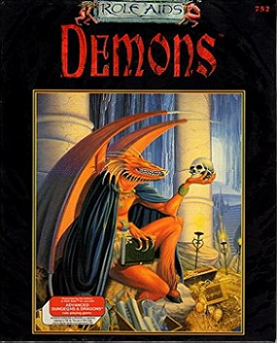 9780923763619: Demons (Role Aids for Advanced Dungeons and Dragons)