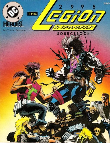 9780923763640: 2995: The Legion of Super-Heroes Sourcebook (DC Heroes Role-Playing Game #263)