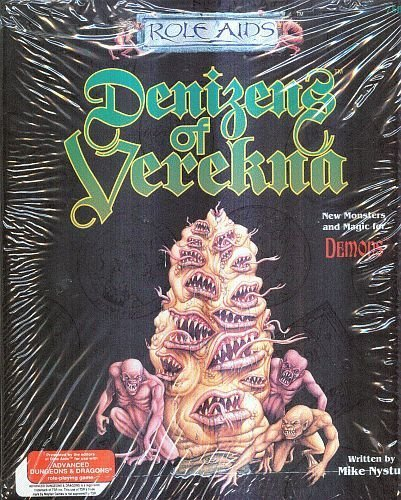 9780923763800: Denizens of Verekna (Role Aids for Advanced Dungeons and Dragons)
