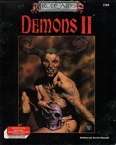 9780923763817: Demons II Box Set (Role Aids)