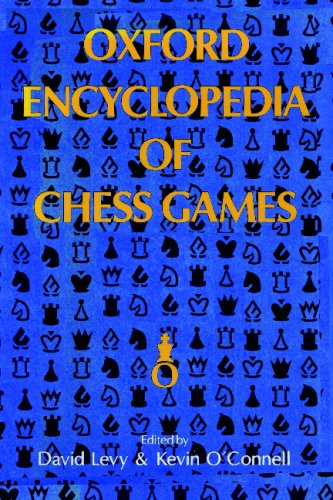 9780923891541: Oxford Encyclopedia of Chess Games