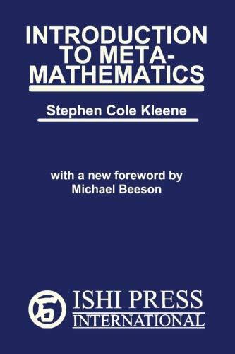 9780923891572: Introduction to Metamathematics