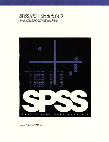 SPSS-PC Plus Statistics 4.0 for the IBM: SPSS Inc. Staff;