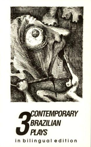 9780924047008: 3 Contemporary Brazilian Plays: Bilingual Edition (Portuguese and English Edition)