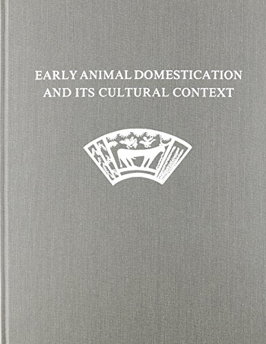 9780924171963: Early Animal Domestication and Its Cultural Context