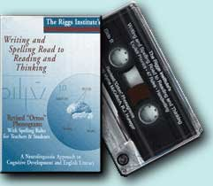 9780924277207: Writing and Spelling Road to Reading and Thinking Audio Tape