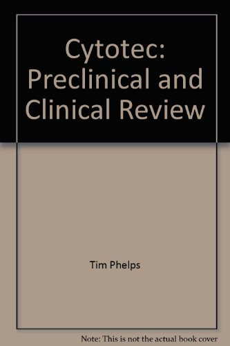 9780924428012: Cytotec: Preclinical and Clinical Review