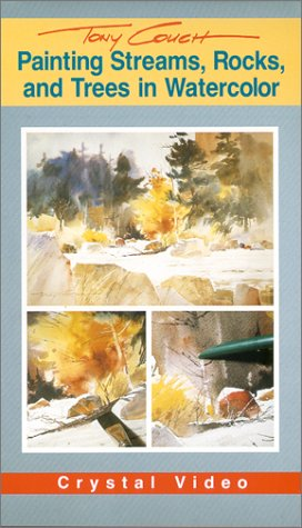 9780924509049: Painting Streams, Rocks, and Trees in Watercolor [VHS]