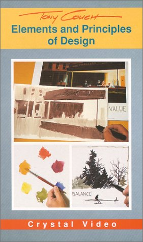 9780924509056: Tony Couch: Elements and Principles of Design [VHS]