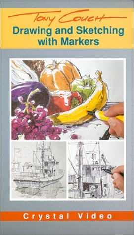 9780924509438: Drawing and Sketching With Markers [VHS]