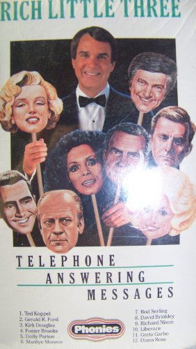 9780924569036: The Rich Little Three Presents: Telephone Answering Messages