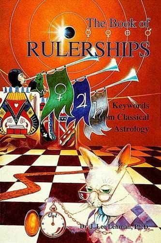 9780924608131: The Book of Rulerships: Keywords from Classical Astrology
