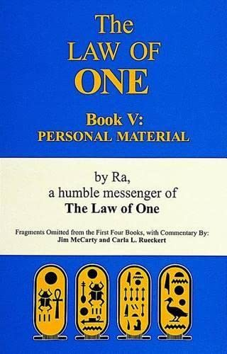 9780924608216: The Law of One Book 5: Personal Material