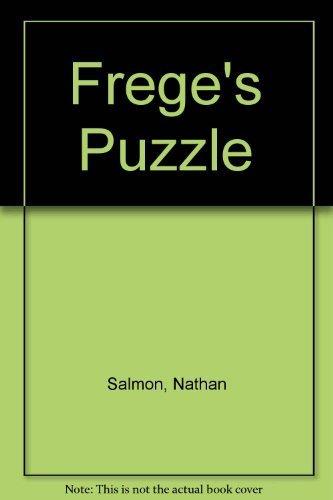9780924922053: Frege's Puzzle