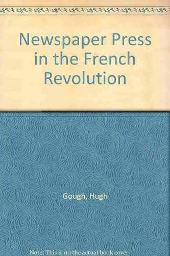 9780925065018: Newspaper Press in the French Revolution